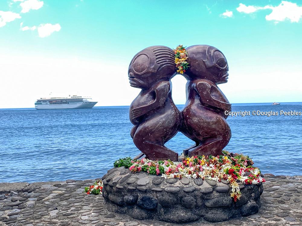 Grelet Museum, Omoa, Fatu Hiva, Marquesas, French Polynesia, South Pacific