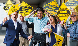 With exactly a week to go until the polls open, Scottish Liberal Democrat leader Willie Rennie will begin a 'flying finish' tour of Scottish seats that the Liberal Democrats are targeting to gain from the SNP. He will spend the week on visits to these target gains.<br /> <br /> Mr Rennie will say that in seats across Scotland, like East Dunbartonshire, North East Fife, Edinburgh West and Caithness, where it is straight a choice between the Liberal Democrats and the SNP, people who are against another independence referendum should rally behind the Liberal Democrats to stop the SNP's plans.
