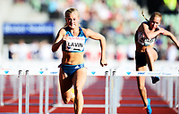Friidrett ,11. juni 2014 ,  Diamond League , Bislett Games<br /> Athletics , June 11 , 2014<br /> <br /> Sarah Kate Lavin , IRL,  100 m hekk