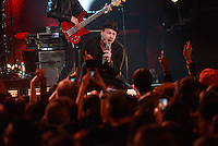 Gavin DeGraw performed at the Wellmont Theatre in Montclair, NJ, on Saturday, February, 1, 2014. / Russ DeSantis/AP Images for the NFL