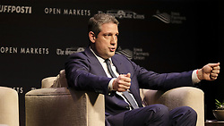 March 30, 2019 - Storm Lake, IOWA, USA - Democratic candidate Rep. TIM RYAN (OH) answers a question during the Heartland Forum which is focused on the family farmer and rural Iowa issues at the Schaller Memorial Chapel on the campus of Buena Vista University in Storm Lake, Iowa Saturday, March 30, 2019. (Credit Image: © Jerry Mennenga/ZUMA Wire)