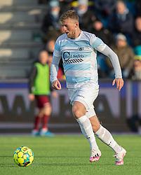 Teddy Bergqvist (FC Helsingør) under kampen i 1. Division mellem FC Helsingør og Skive IK den 18. oktober 2020 på Helsingør Stadion (Foto: Claus Birch).