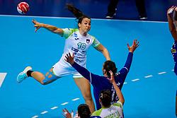 06-12-2019 JAP: Serbia - Slovenia, Kumamoto<br /> last match groep A at 24th IHF Women's Handball World Championship. / Tjasa Stanko #10 of Slovenia