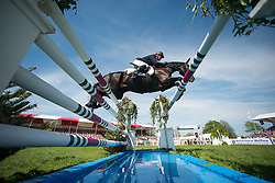 Dibowski Andreas, (GER), FRH Butts Avedon<br /> CCI4* - Mitsubishi Motors Badminton Horse Trials 2016<br /> © Hippo Foto - Jon Stroud