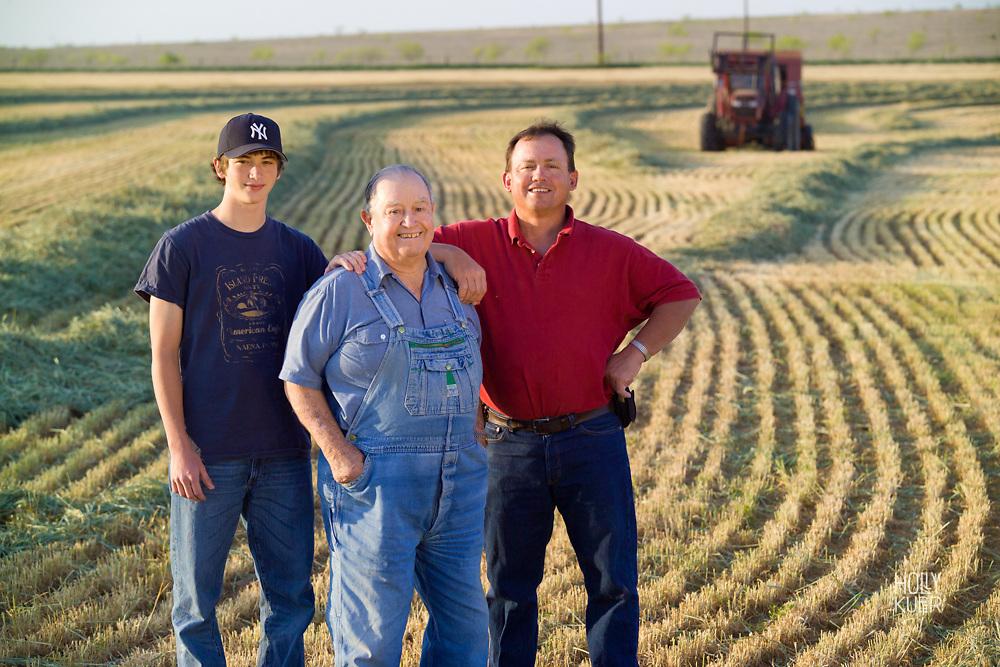 Three Generations of Farming in America