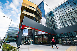 Exterior of University of Strathclyde Business School in Glasgow, Scotland, united Kingdom