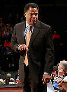 CHARLOTTESVILLE, VA- NOVEMBER 13: Associate head coach Ritchie McKay of the Virginia Cavaliers reacts to a call during the game on November 13, 2011 at the John Paul Jones Arena in Charlottesville, Virginia. Virginia defeated South Carolina State 75-38. (Photo by Andrew Shurtleff/Getty Images) *** Local Caption *** Ritchie McKay