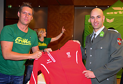 16.07.2016, Hotel Mariott, Wien, AUT, Olympia, Rio 2016, Einkleidung OeOC, im Bild Daniel Habersohn // during the outfitting of the Austrian National Olympic Committee for Rio 2016 at the Hotel Mariott in Wien, Austria on 2016/07/16. EXPA Pictures © 2016, PhotoCredit: EXPA/ Erich Spiess