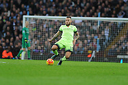 Nicolas Otamendi of Manchester city in action. Barclays Premier league match, Aston Villa v Manchester city at Villa Park in Birmingham, Midlands  on Sunday 8th November 2015.<br /> pic by  Andrew Orchard, Andrew Orchard sports photography.