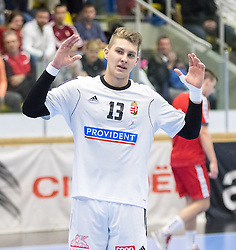 06.01.2017, BSFZ Suedstadt, Maria Enzersdorf, AUT, IHF Junior WM 2017 Qualifikation, Ungarn vs Österreich, im Bild Richard Nemes (HUN) // during the IHF Men's Junior World Championships qualifying match between Hungary and Austria at the BSFZ Suedstadt, Maria Enzersdorf, Austria on 2017/01/06, EXPA Pictures © 2017, PhotoCredit: EXPA/ Sebastian Pucher