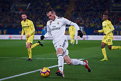 January 3, 2019 - Villarreal, U.S. - VILLARREAL, SPAIN - JANUARY 03: Gareth Bale, forward of Real Madrid in action with the ball during the La Liga match between Villarreal CF and Real Madrid CF at Estadio de la Ceramica on January 03, 2019 in Villarreal, Spain. (Photo by Carlos Sanchez Martinez/Icon Sportswire) (Credit Image: © Carlos Sanchez Martinez/Icon SMI via ZUMA Press)