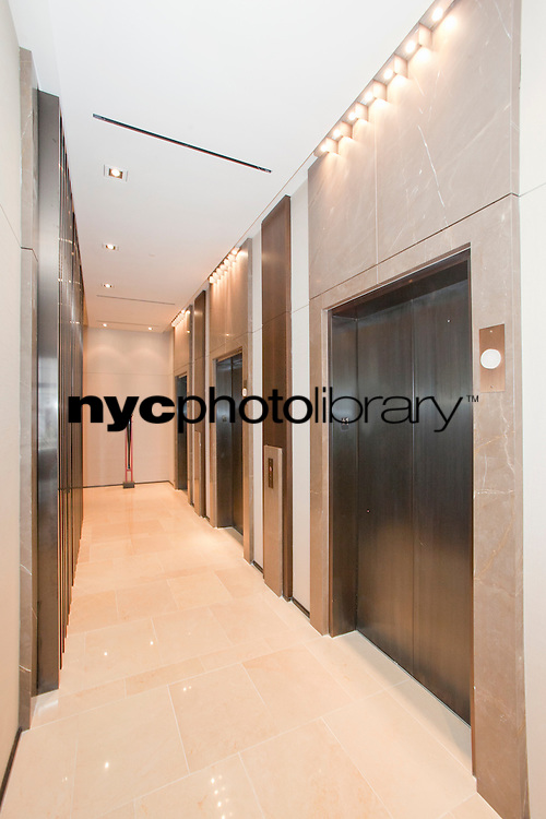 Elevators at 400 Fifth Avenue