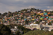 View of the rural town of Yauco in Puerto Rico