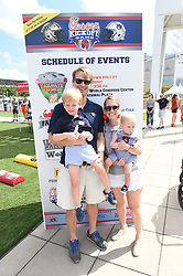 General images of Tailgate Town prior to the Chick-fil-A Kickoff Game between the Auburn Tigers and the Washington Huskies at Mercedes-Benz Stadium, Saturday, September 1, 2018, in Atlanta. Auburn won 21-16. (Chris Eason via Abell Images for Chick-fil-A Kickoff)