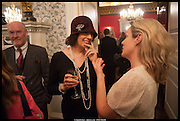 CHRISTINE JONES, launch of Sophie Hannah's Agatha Christie ' The Monogram Murders ' at the Ritz London. 8 September 2014