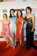 Premiere Smoorverliefd in het Circustheater, Scheveningen.<br /> <br /> Op de foto:  De cast  Beatrice Hillen, Anna Raadsveld, Anna Drijver en Susan Visser