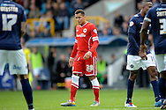 Ravel Morrison of Cardiff City. Skybet football league championship match , Millwall v Cardiff city at the Den in Millwall, London on Saturday 25th October 2014.<br /> pic by John Patrick Fletcher, Andrew Orchard sports photography.