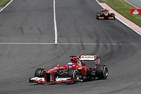 MOTORSPORT - F1 2013 - GRAND PRIX OF SPAIN / GRAND PRIX D'ESPAGNE - BARCELONA (ESP) - 10 TO 12/05/2013 - PHOTO : JEAN MICHEL LE MEUR / DPPI - ALONSO FERNANDO (SPA) - FERRARI F138 - ACTION