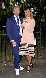 July 7, 2016 - London, United Kingdom of Great Britain and Northern Ireland - Boris Becker and Lilly Becker arriving at the Serpentine Summer Party at The Serpentine Gallery on July 6, 2016 in London, England  (Credit Image: © Famous/Ace Pictures via ZUMA Press)