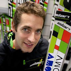 20101026: SLO, Nordic Ski - Austrian Ski Jumper Wolfgang Loitzl signs a contract with ELAN