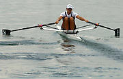 2005 FISA Rowing World Cup Munich,GERMANY. 18.06.2005; NZL W1X Georgina Evers-Swindell.Photo  Peter Spurrier. .email images@intersport-images...[Mandatory Credit Peter Spurrier/ Intersport Images] Rowing Course, Olympic Regatta Rowing Course, Munich, GERMANY