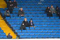 Fans in the stands ahead of the match