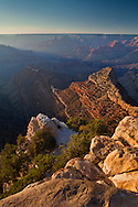 Sunset from Grandview Point, South Rim, Grand Canyon National Park, Arizona