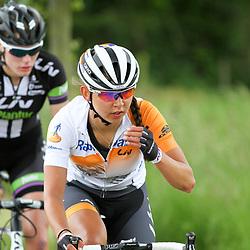 29-05-2015: Wielrennen: Boels Hils Classic: Berg en Terblijt<br /> BERG EN TERBLIJT (NED) wielrennen;De Boels Hills Classic is de Amstel Goldrace voor vrouwen met 15 heuvels en bijna 2000 hoogte meters. Anouska Koster