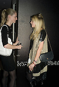 CHLOE DELAVIGNE AND MARISSA MONTGOMERY, DKNY Night Fragrance launch party. The Serpentine Gallery, London, W2. 12 December 2007. -DO NOT ARCHIVE-© Copyright Photograph by Dafydd Jones. 248 Clapham Rd. London SW9 0PZ. Tel 0207 820 0771. www.dafjones.com.