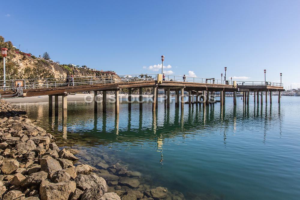 Dana Point Harbor Fishing Pier