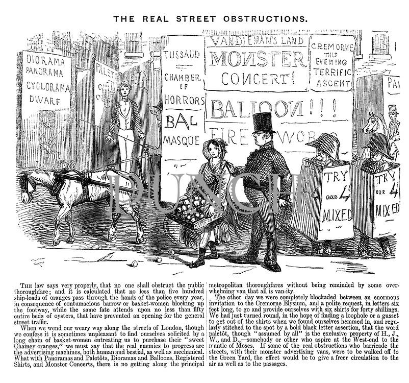 The Real Street Obstructions.