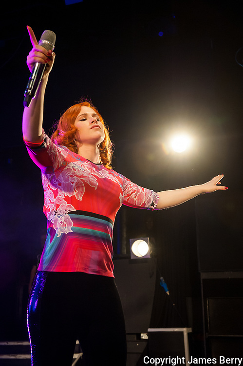 Katy B (real name Kathleen Anne Brien) performs live at Koko, Camden, on Wednesday 26 March 2014.
