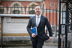 © Licensed to London News Pictures. 23/01/2012. London, UK.  John Battle, ITN head of compliance, leaving the Royal Courts of Justice on January 23rd, 2012 where he is due to give evidence at Leveson Inquiry in to press standards. Photo credit : Ben Cawthra/LNP