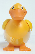 A yellow rubber ducky