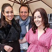 NLD/Amsterdam/20150408 - Launch Beautygloss by JOSH V dresses #BGxJV, Tatjana Maul, Michael Ling en Mascha Feoktistova