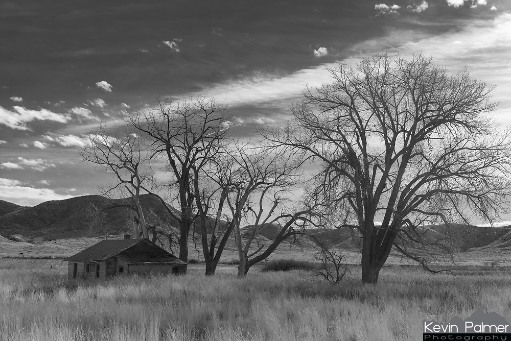 I continue to find that southeast Montana has more photogenic abandoned houses than anywhere else I've been. I could make a whole album of photos. I found this one near St Xavier.
