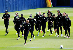Manchester City players train  - Mandatory byline: Matt McNulty/JMP - 25/04/2016 - FOOTBALL - City Football Academy - Manchester, England - Manchester City v Real Madrid - UEFA Champions League Training Session
