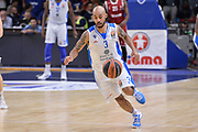 DESCRIZIONE : Eurolega Euroleague 2015/16 Group D Dinamo Banco di Sardegna Sassari - Brose Basket Bamberg<br /> GIOCATORE : David Logan<br /> CATEGORIA : Palleggio Contropiede<br /> SQUADRA : Dinamo Banco di Sardegna Sassari<br /> EVENTO : Eurolega Euroleague 2015/2016<br /> GARA : Dinamo Banco di Sardegna Sassari - Brose Basket Bamberg<br /> DATA : 13/11/2015<br /> SPORT : Pallacanestro <br /> AUTORE : Agenzia Ciamillo-Castoria/L.Canu