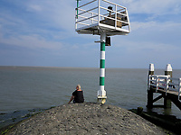 VLIELAND - haven van Vlieland . ANP COPYRIGHT KOEN SUYK