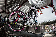#777 (WILLERS Marc) NZL at the 2014 UCI BMX Supercross World Cup in Santiago Del Estero, Argentina.
