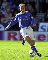 Fotball. Premier League. 06.04.2002.<br /> Bolton v Ipswich.<br /> Jamie Clapham, Ipswich.<br /> Foto: Tim Parker, Digitalsport