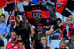 June 5, 2017 - Saint Denis, Seine Saint Denis, France - Fans of the Rugby Club Toulonnais during the final of the French Rugby Championship Top 14 against ASM Clermont-Auvergne at the stadium of France - St Denis France.ASM Clermont beat RC Toulon 22-16 (Credit Image: © Pierre Stevenin via ZUMA Wire)