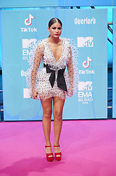 November 4, 2018 - Madrid, Madrid, Spain - DSofia Reyes attends the 25th MTV EMAs 2018 held at Bilbao Exhibition Centre 'BEC' on November 4, 2018 in Madrid, Spain (Credit Image: © Jack Abuin/ZUMA Wire)
