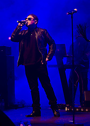 © Licensed to London News Pictures. 10/05/2012. London, UK.  Happy Mondays perform live at O2 Academy Brixton.  In picture L to R - Shaun Ryder (vocals), Paul Davies (keyboards).  Photo credit : Richard Isaac/LNP