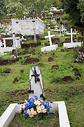 Calvary Cemetery, Atuona, Hiva Oa, Marquesa Islands, French Polynesia<br />