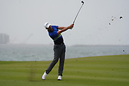 Alexander Bjork (SWE) on the 9th during Round 1 of the Oman Open 2020 at the Al Mouj Golf Club, Muscat, Oman . 27/02/2020<br /> Picture: Golffile | Thos Caffrey<br /> <br /> <br /> All photo usage must carry mandatory copyright credit (© Golffile | Thos Caffrey)