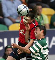 ◊Copyright:<br />GEPA pictures<br />◊Photographer:<br />Hans Simonlehner<br />◊Name:<br />Olic<br />◊Rubric:<br />Sport<br />◊Type:<br />Fussball<br />◊Event:<br />UEFA Cup Finale, Sporting Lissabon vs ZSKA Moskau<br />◊Site:<br />Lissabon, Portugal<br />◊Date:<br />18/05/05<br />◊Description:<br />Ivica Olic (Moskau), Tello (Lissabon)<br />◊Archive:<br />DCSSL-180505602<br />◊RegDate:<br />18.05.2005<br />◊Note:<br />TM/TM - Nutzungshinweis: Es gelten unsere Allgemeinen Geschaeftsbedingungen (AGB) bzw. Sondervereinbarungen in schriftlicher Form. Die AGB finden Sie auf www.GEPA-pictures.com.<br />Use of picture only according to written agreements or to our business terms as shown on our website www.GEPA-pictures.com