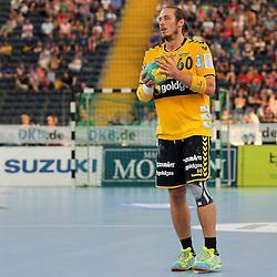 Rhein-Neckars Kim Ekdahl Du Rietz (Nr.60) im Spiel Rhein-Neckar-Loewen - HSV Handball.<br /> <br /> Foto © P-I-X.org *** Foto ist honorarpflichtig! *** Auf Anfrage in hoeherer Qualitaet/Aufloesung. Belegexemplar erbeten. Veroeffentlichung ausschliesslich fuer journalistisch-publizistische Zwecke. For editorial use only.
