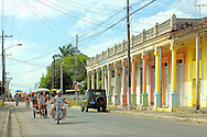 Street in Ciego de Avila, Cuba.