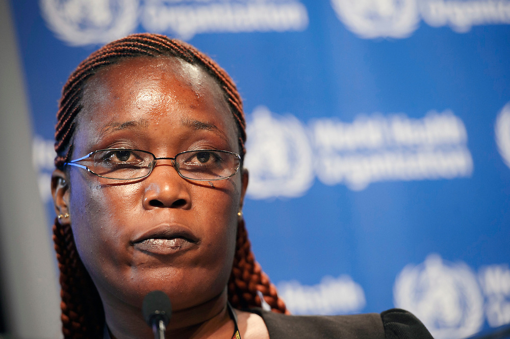 04 June 2015 - Belgium - Brussels - European Development Days - EDD - Health - Defeating Ebola and building up resilient health systems for a better future - Rebecca Johnson , Nurse , Ebola survivor and Founder of Pink Cross , Sierra Leone © European Union